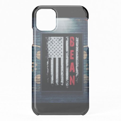 Bean Flag iPhone 11 Case