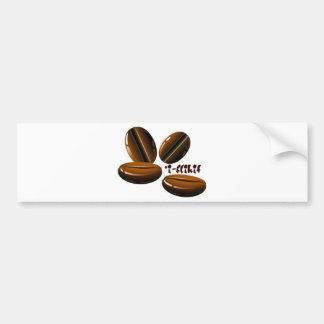 bean flicker bumper sticker