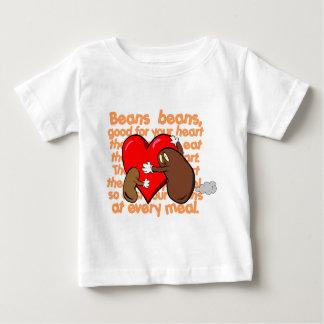 Bean_Heart_Poem Baby T-Shirt