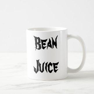 Bean Juice Classic White Coffee Mug