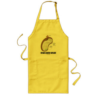 Bean Lover Inside (Bean Dicotyledon) Long Apron