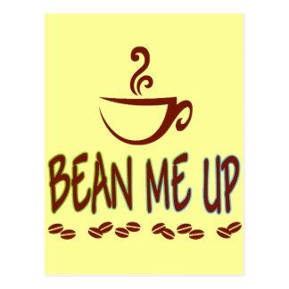 Bean Me Up Postcard