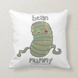 Bean Mummy Throw Pillow