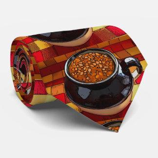 Bean pot neck tie