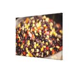 Bean Salad Canvas Print