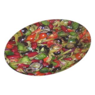 Bean Salad Dinner Plate