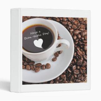 Bean-tastic Coffee Celebration 3 Ring Binder