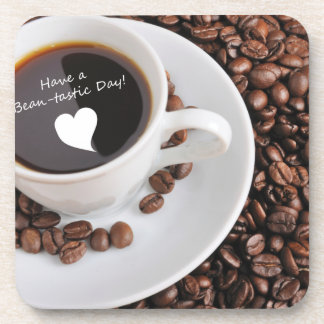 Bean-tastic Coffee Celebration Beverage Coaster