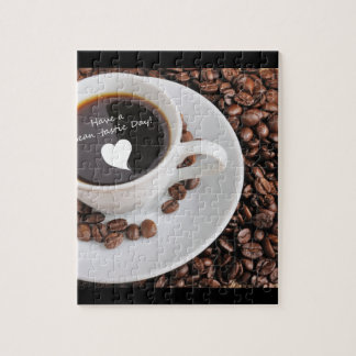Bean-tastic Coffee Celebration Jigsaw Puzzle