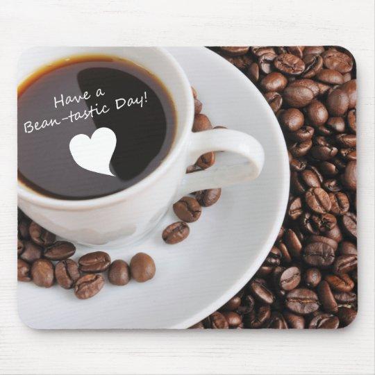 Bean-tastic Coffee Celebration Mouse Pad