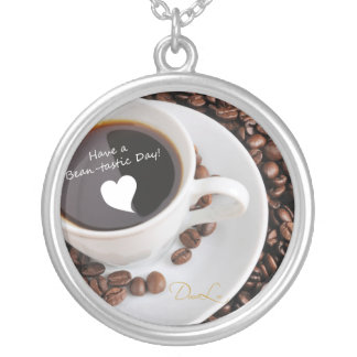 Bean-tastic Coffee Celebration Personalized Necklace