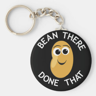 Bean There Done That Keychain