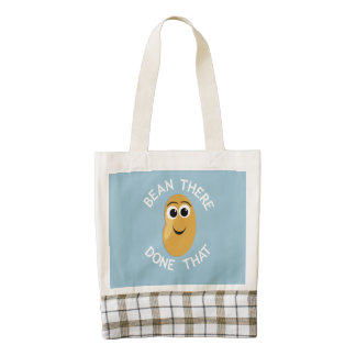 Bean There Done That Zazzle HEART Tote Bag