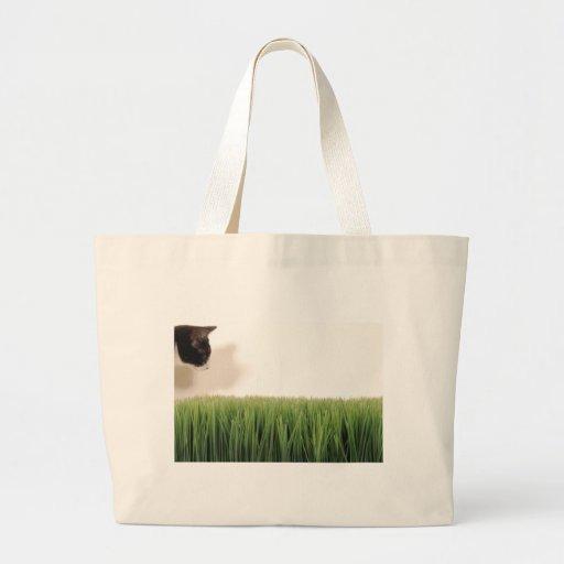 beanANDgrass Large Tote Bag