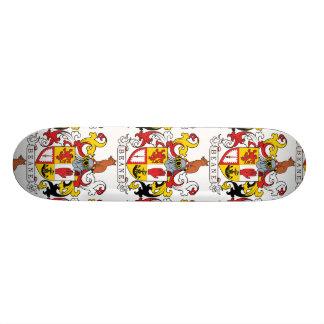 Beane Family Crest Skateboard
