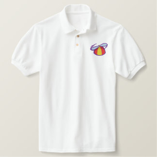 Beanie with Propeller Embroidered Polo Shirt