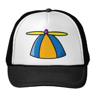 Beanie With Propeller Trucker Hat