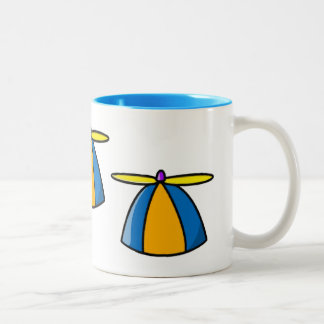 Beanie With Propeller Two-Tone Coffee Mug