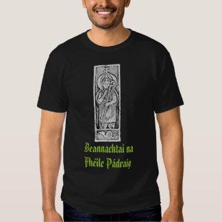 Beannachtai na Fhéile Pádraig BR_black T Shirt