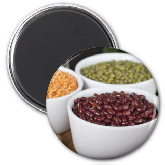 Beans and Garlic Magnet