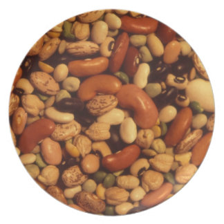 Beans and Peas Dinner Plate