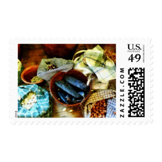 Beans and Seeds Stamp
