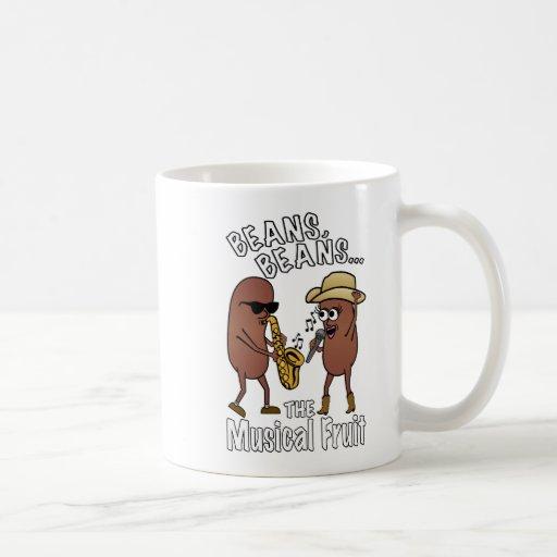 Beans, Beans - The Musical Fruit Coffee Mugs