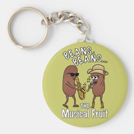 Beans, Beans - The Musical Fruit Keychain