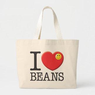 Beans, Eat Canvas Bags
