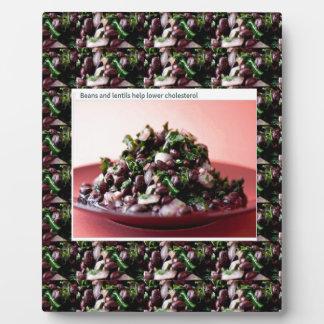 BEANS n LENTILS top american chefs cuisine salads Plaque