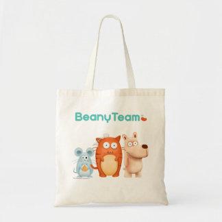 BeanyTeam™ - gato y ratón y perro Bolsa Tela Barata