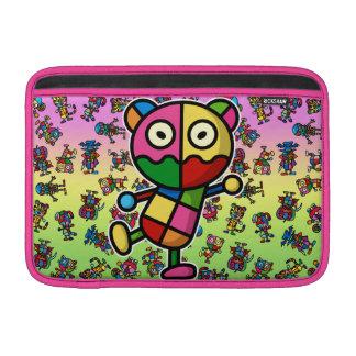 bear2 colorido fundas MacBook