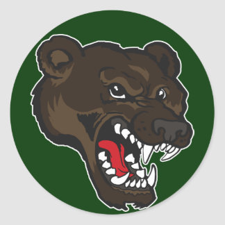Bear-01 Classic Round Sticker