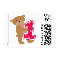 Bear 1st Birthday T-shirts and Gifts Postage