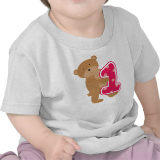 Bear 1st Birthday T-shirts and Gifts