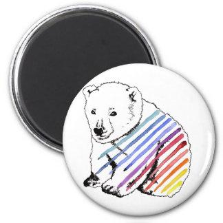 bear 2 inch round magnet
