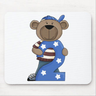 Bear 2 Year Old Mouse Pad