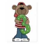 Bear 3 Year Old Post Card