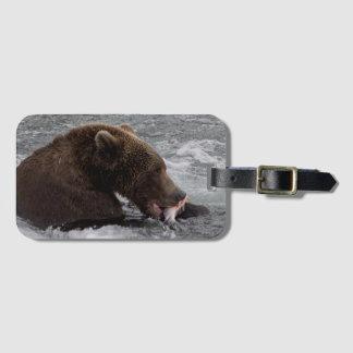 Bear 503 Cubadult Fisherbear Luggage Tag 2