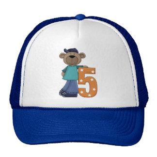 Bear 5 Year Old Trucker Hat