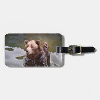 bear-78 etiquetas de maletas