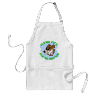 bear adult apron