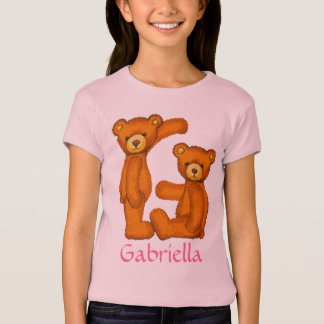 Bear Alphabet Letter G Initial~Custom Name~Shirt T-Shirt