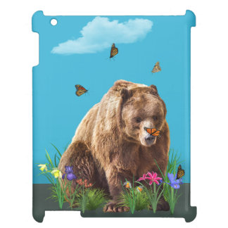 Bear and Butterflies Fantasy Case For The iPad