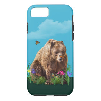 Bear and Butterflies Fantasy  Customizable iPhone 8/7 Case