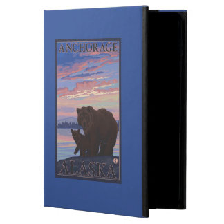 Bear and Cub - Anchorage, Alaska Case For iPad Air