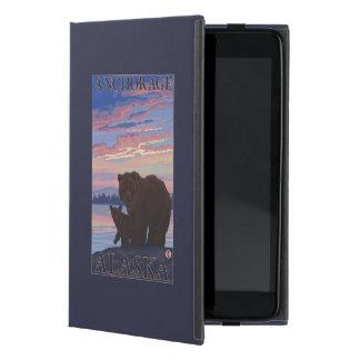 Bear and Cub - Anchorage, Alaska iPad Mini Cover