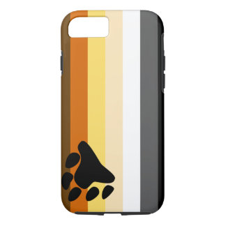 Bear and Cub Community LGBT Gay Pride Flag iPhone 7 Case