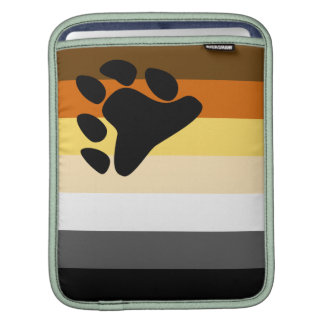 Bear and Cub Community LGBT Gay Pride Flag Sleeve For iPads