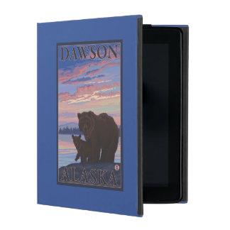 Bear and Cub - Dawson, Alaska iPad Cases